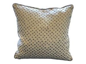 Dransfield & Ross Studded Pillow