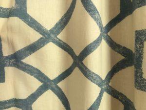 92″ Lattice Print Curtains