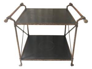 Tole Bar Cart from Baker