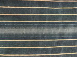 Blue Striped Window Panels, 8 Double Width