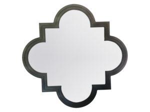 Restoration Hardware Weathered Zinc Single Fez Mirror