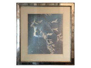 Trowbridge Artwork Framed in Distressed Mirror