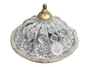 Vintage Crystal Bead Ceiling Mount