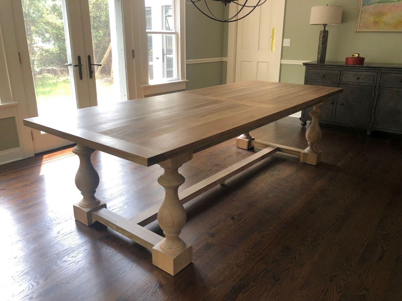 Restoration Hardware 17th Monastery Rectangular Dining Table