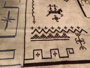 6 x 10 Vintage Scandinavian Wool Rug