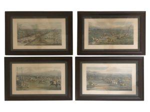 Aylesbury Grand Steeple Chase Prints, Set of 4