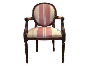 Kravet Louis XVI Style Armchair