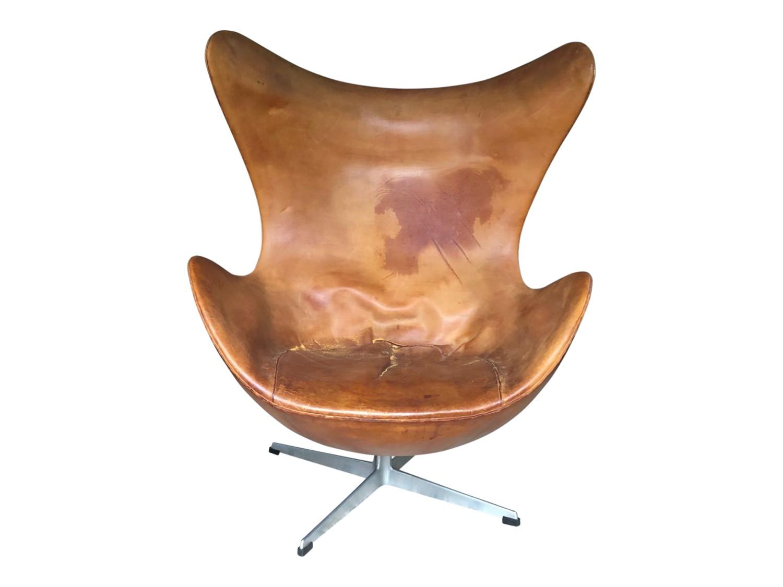 Egg Chair Jacobsen.Vintage Arne Jacobsen Egg Chair