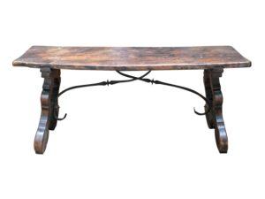 Antique English Stretcher Bench