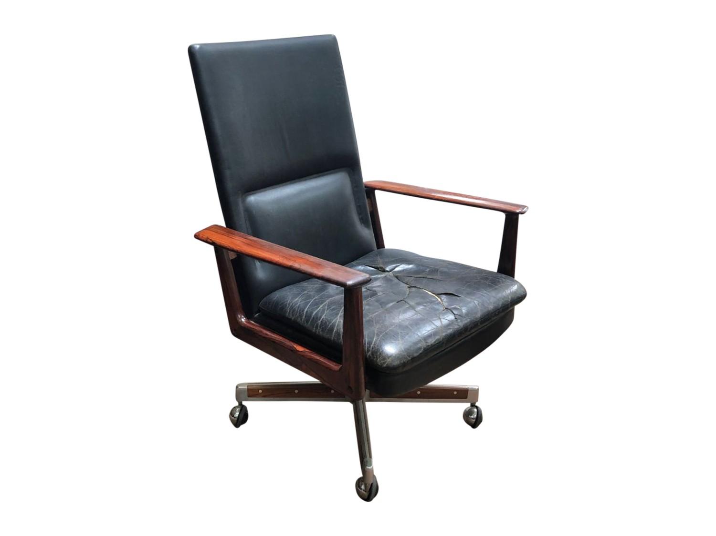 Incredible Vintage Arne Vodder Desk Chair For Sibast Denmark C 1960S Download Free Architecture Designs Grimeyleaguecom