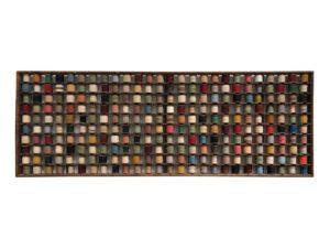 Antique Wooden Rack for Wool Yarn Bobbins circa 1890-1910