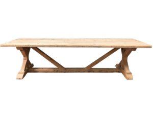Restoration Hardware Salvaged Wood X-Base Table