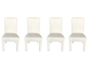 Ballard Design Parsons Chairs, Set of 4