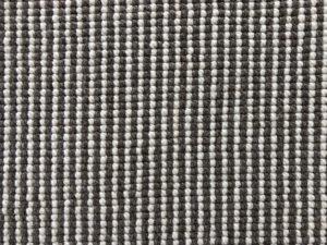 Custom 11 x 11 Brown Striped Rug