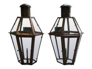 Bevolo Lanterns, Pair