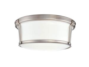 Hudson Valley Newport 13″ Satin Nickel Ceiling Light