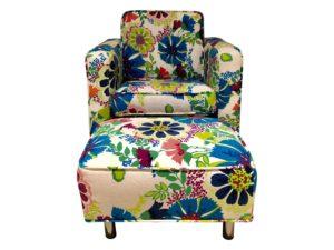 Jennifer Delonge Kids Chair & Ottoman