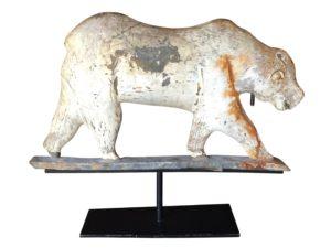 Rare Antique Polar Bear Weathervane