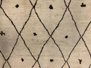 8 x 10 Moroccan Beige Area Rug