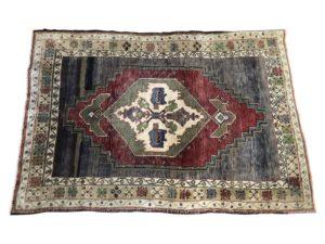 4 x 5 Vintage Oushak Rug