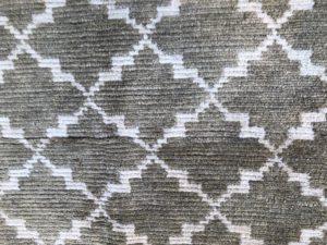 10 x 12.5  Beauvais Wool Handknotted Lattice Rug