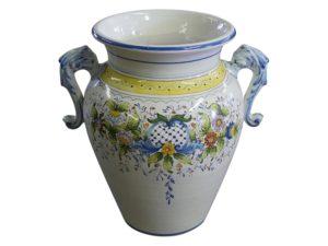 Portuguese Ceramic Urn