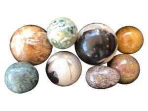 Set of 8 Italian Marble Eggs