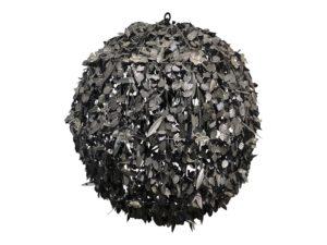 Pasquale Miranda Bronze Globe Chandelier