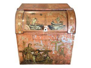 Tole Antique Tea Canister