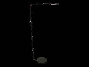 Modern Disc Floor Lamps, Dark Metal