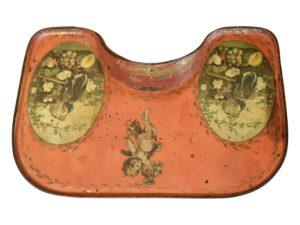 Vintage Tole Baby Tray