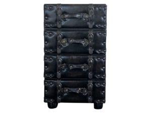 Vintage Luggage Dresser