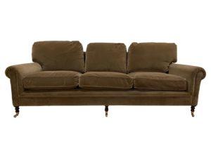 George Smith Green 3 Seat Sofa