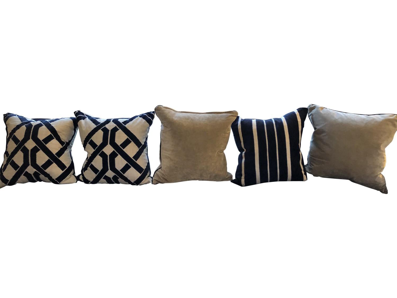 Lilian August Throw Pillows Five The Local Vault