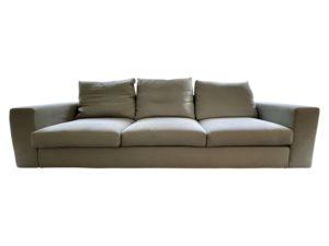 Zanotta Light Grey Sofa