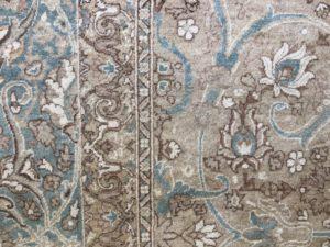 9 x 13 Large Floral Medallion Room-Size Rug